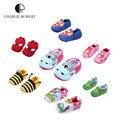 Novo design 100% algodão meninas meninos calçados primeira walker sapatos de bebê multicolor animal dos desenhos animados superman menina kawaii bebê sapatos HK491