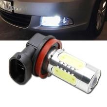1x Led COB H11 H8 Lighting 11W Car Driving Fog Light Lamp Bulb No Error For