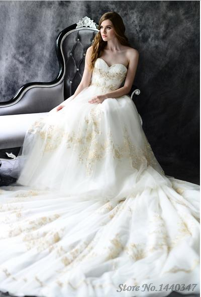 Aliexpress.com : Buy Latest Style New Extravagant Ball Gown ...
