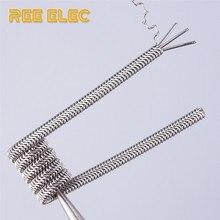 REE ELEC A1 Alien Clapton Coil 0.3ohm Pre-Built Coils RDA RTA Atomizer DIY Tools Clapton Coil Electronic Cigarette Accessories