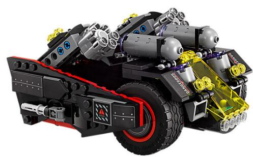 CX 07077 1496Pcs Model building kits Compatible with Lego 70917 Batmobile Bat Motorcycle 3D Bricks figure toys for children