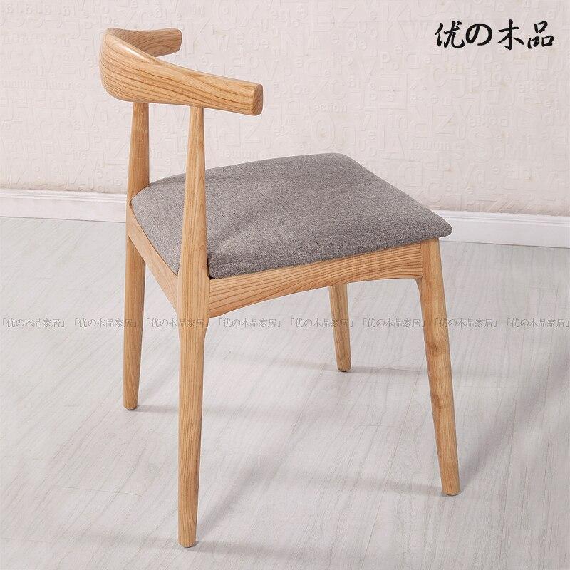 Scandinavian Masters Danish Designer Horn Chair Wood