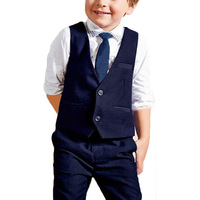 Boys Suits For Wedding European Style Kids Formal Clothing Shirt Pants With Vest Tie Fashion Blazer