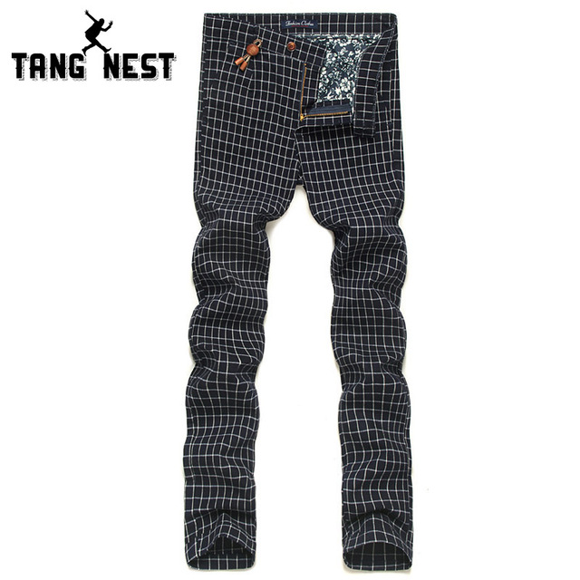 2017 New Arrival Men's Plaid Classic Fitness Hot Selling Suit Pants British Style Casual Soft Male 3 Colors Trousers MKX682