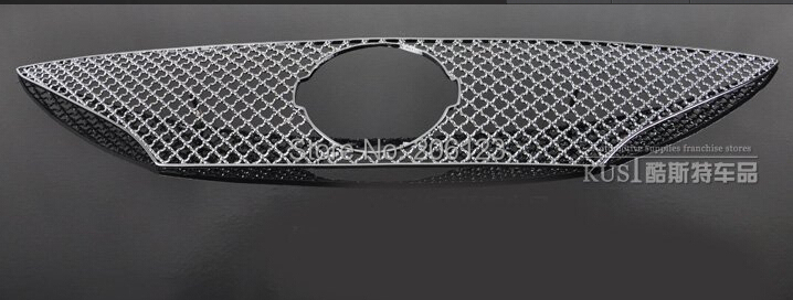 High quality stainless steel Front Grille Around Trim Racing Grills Trim For 2011  Tiida