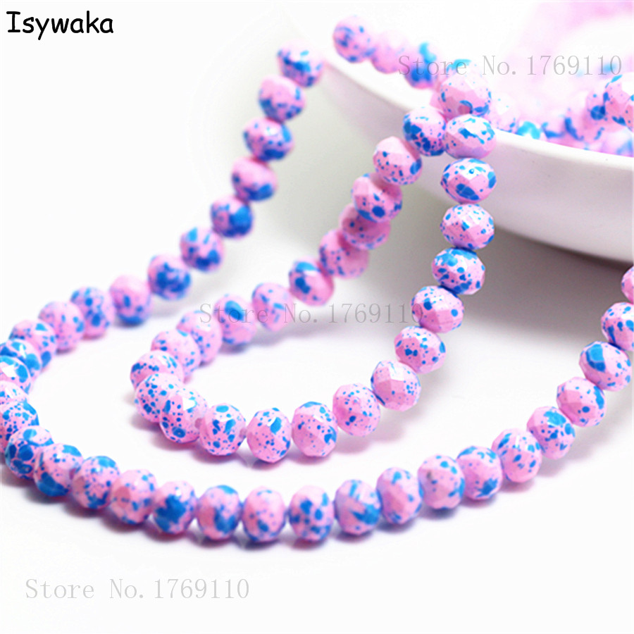Teardrops Austria Faceted Crystal Glass Beads Loose Spacer Jewelry Making 50pcs