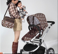 Envío gratis Colorland Moda Hombro Multifuncional Mochila Impermeable Bolsa de Momia Bolsa de Pañales Del Bebé Bolsas de Pañales