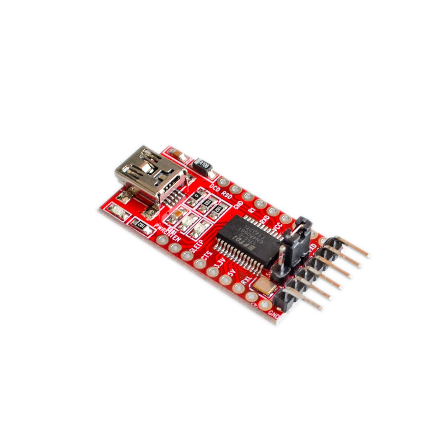Free shipping 1pcs FT232RL FTDI USB 3.3V 5.5V to TTL Serial Adapter Module for Arduino Mini Port Рюкзак