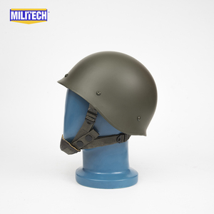 Image 3 - Militech Oliver Drab OD Green French F1 Model 1978 Version Steel Paratrooper High Quality Repro Collection Helmet