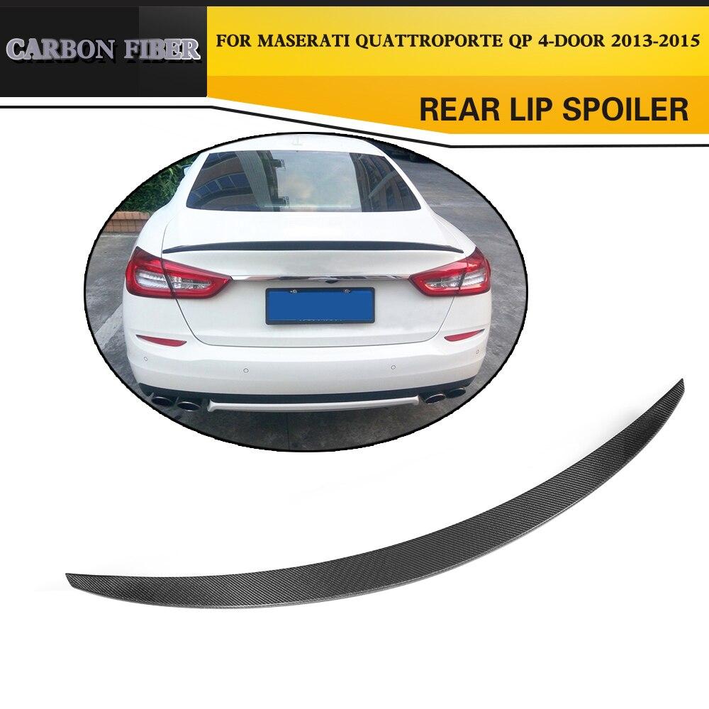 Aileron arrière en Fiber de carbone pour Maserati Quattroporte QP 4 portes Executive 2013-2015
