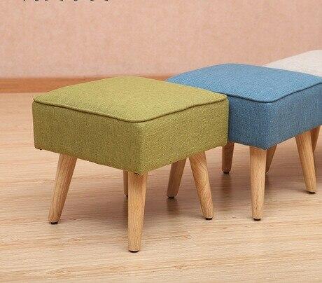 Taburetes y otomanos muebles de sala muebles para el hogar sólido ...