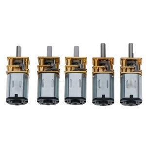 1PC 6V DC 12V Mini Micro motorreductor de metal con rueda dentada motores DC/20/30/50/100/200/300 RPM venta al por mayor