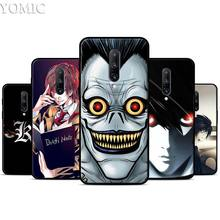 Death Note Comic Anime Cartoon Silicone Case for Oneplus 7 7Pro 5T 6 6T Black Soft Case for Oneplus 7 7 Pro TPU Phone Cover