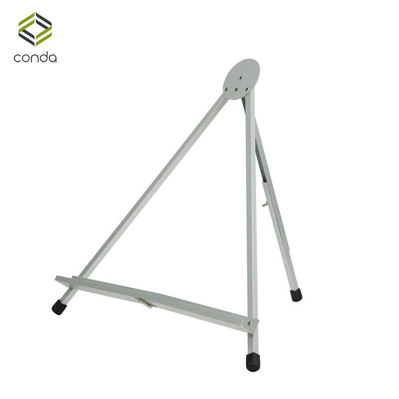 Conda Easel For Painting Foldable Table Easel Portable Display Aluminum Mini Easels Stand Sketch For Artist Office Display kitmmm559unv55400 value kit post it easel pads self stick easel pads mmm559 and universal economy woodcase pencil unv55400