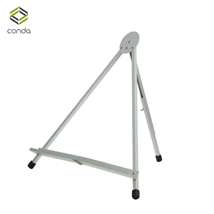Image 1 - Conda Easel For Painting Foldable Table Easel Portable Display Aluminum Mini Easels Stand Sketch For Artist Office Display