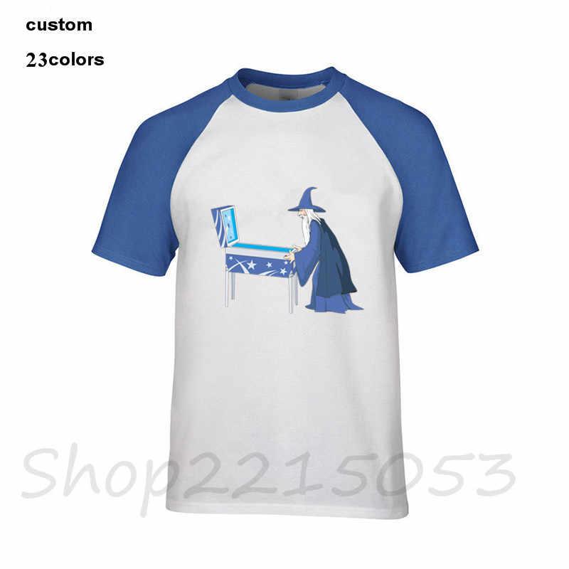 2018 funny Pinball Wizard Mens T-Shirt harajuku cartoon tops tee camisetas male t shirt hip hop one piece tshirt superman cospla