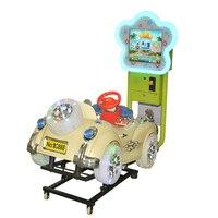 New 3D small video Jockey Club horse racing coin operated wobbler children's playground swing playground equipment YLW K1818