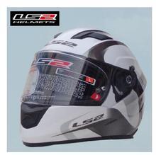 New arrive 100% original LS2 ff328 motorcycle helmet with inner sun visor full face helmet double visor helmet with airbags