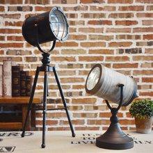 Europa Hierro Escritorio Ornamet Industrial Loft Lámpara de la Decoración de Viento Retro Antiguo Bar Cafe Decoración Apoyos Accesorios de Decoración Del Hogar