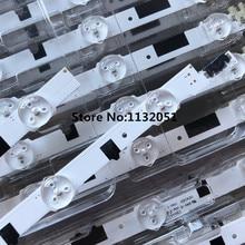 Led hintergrundbeleuchtung bildschirm 1 satz = 14 stücke Für 40 INCH tv UA40F5500AJs AR UA40F6300AJXXR 2013SVS40F CY HF400BGLV1H LCD Monitor (2 stücke 5 perlen l