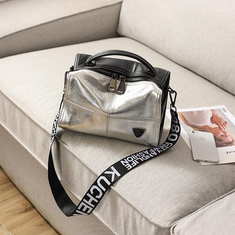 2019 nouveau luxe en cuir sac à main hit couleur en cuir oreiller grand-capacité de mode Boston sac à bandoulière marques célèbres femmes D'embrayage