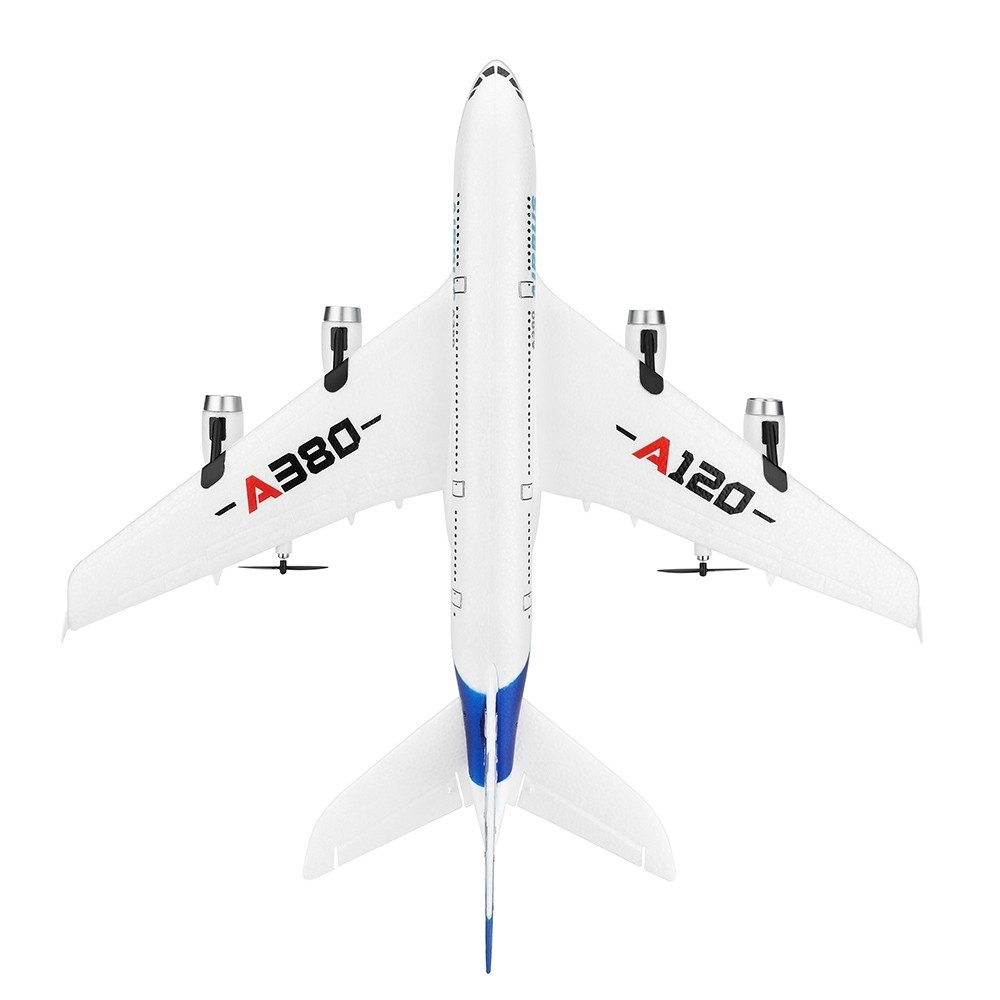 Flying Model Remote Control Airplane 3CH EPP Fixed wing Airbus Plane A380 Model 2.4G Aircraft RTF kids toys-in RC Airplanes from Toys & Hobbies    3
