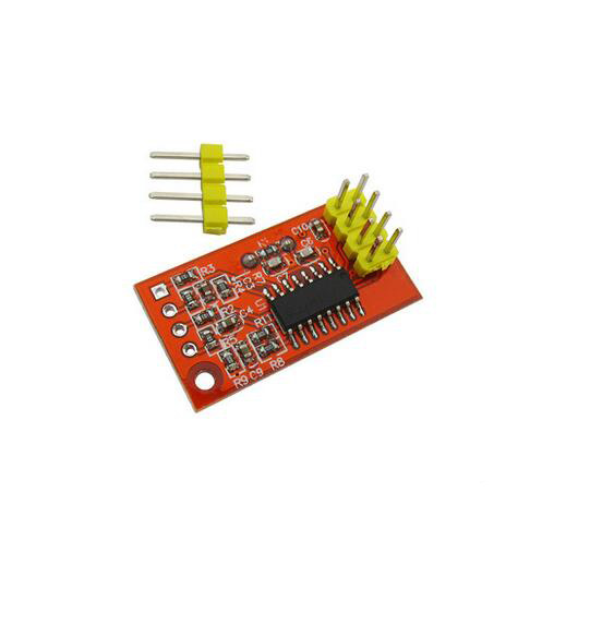 Dual 16-bit ADC Data Acquisition Module SPI Compatible AD7705 Module Board