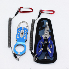 Aluminum Alloy Fishing Grip Pliers Stainless Steel Fish Gripper Hook Recover Line Cutter High Quality Tool Lip