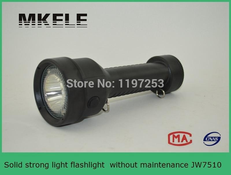 JW7510 Solid strong light led flashlight without maintenance led rechargeable flashlight