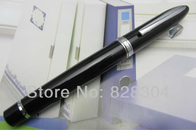 High-quality black fountain Pen Duke Sharks Free shipping Heavy textureHigh-quality black fountain Pen Duke Sharks Free shipping Heavy texture