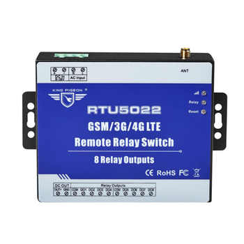 GSM Remote Relay Switch SMS Alarm control by SMS APP Timer for Street Light Pump Control with 8 Relay Outputs RTU5022 - DISCOUNT ITEM  50% OFF All Category