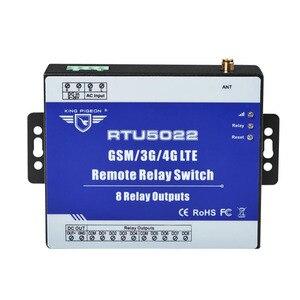Image 1 - GSM מרחוק ממסר מתג SMS מעורר שליטה על ידי SMS APP טיימר לרחוב אור משאבת שליטה עם 8 יציאות ממסר RTU5022