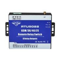 Modbus TCP Сотовая связь RTU реле по SMS приложение таймер для IOT устройств уличный фонарь с 8 выходов реле RTU5022