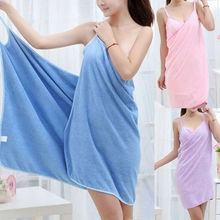 Women Robes Bath Wearable Towel