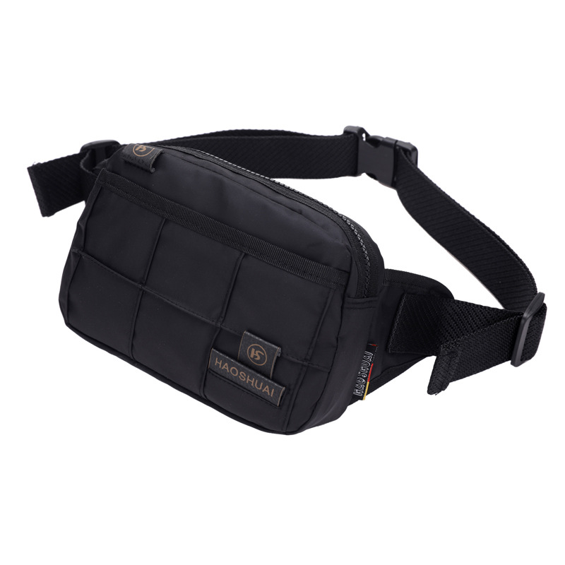 High Quality Men Nylon Waist Belt Bags Purse Pouch Sling Crossbody Chest Back Pack Money Bag New Fashion Male Hip Bum Fanny Pack