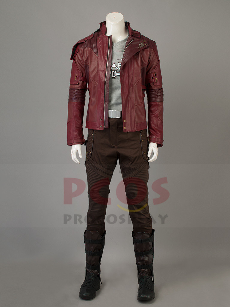 Guardians of the Galaxy Vol.2 Star Lord Peter Quill Cosplay Costume & Boots mp003703 120pc pg8044 building blocks toys star lord peter guardians of the galaxy groot raccoon quill nebula mantis glenmora hugo drax