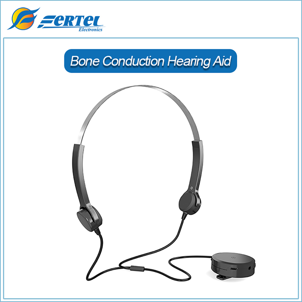 ФОТО 2017 Bone Conduction Headphones Hearing Aid Portable Headset Best Sound Amplifier Digital Hearing Aids Care Health headphones