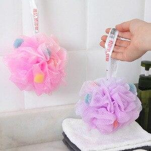 Image 3 - FOURETAW baignoire de bain douce de grande taille, boule de bain, boule de bain fraîche, serviette de bain, nettoyage en maille, produit éponge de lavage
