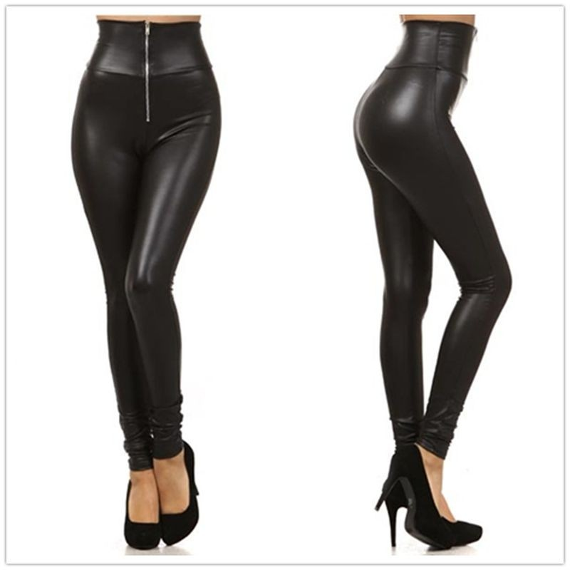 women-high-waist-pencil-leggings-front-zipper-sexy-punk-legging-large-size-fake-leather-fitted-leggings (1)
