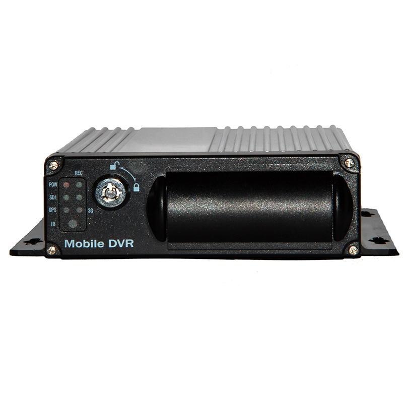 4CH SD Card Mobile DVR , H.264 Car DVR , Motion Detect ,Cycle Recording ,Built-in G-Sensor MDVR , Mini  Video Recorder