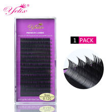 Individual False Eyelashes Extension Natural Fake Eyelash Eye Lashes Mink Eyelash Extension Black Lash Set Private Label makeup(China)
