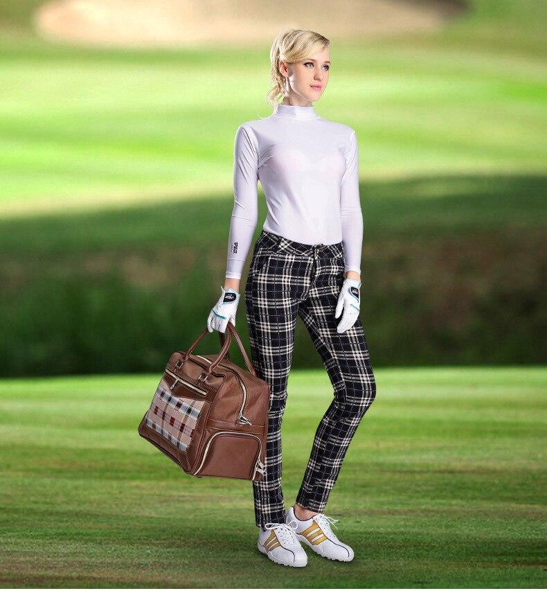 golfe lambskin genuíno senhoras luvas de golfe