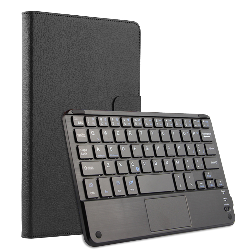 Touchpad bluetooth keyboard case for Huawei MediaPad M5 Pro 10.8 CMR-W19 CMR-AL19 tablet pc for Huawei MediaPad M5 Pro keyboard silicone with bracket flat case for huawei mediapad m5 8 4 inch