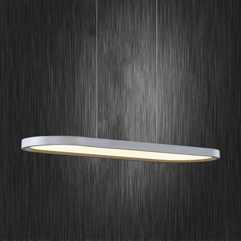 stylish lighting living. a1 pendant lights stylish led aoval slim living room restaurant creative frisbee strip european chandelier lighting f