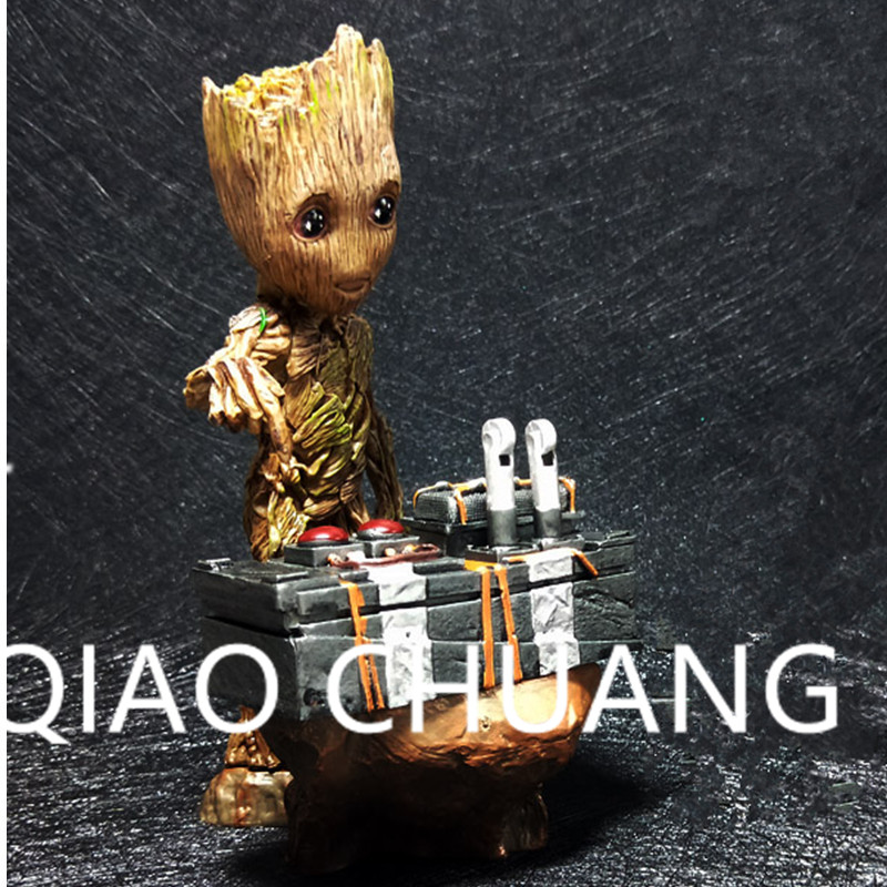 Guardians Of The Galaxy The Avengers Albero Man Groot Sculptures PVC Action Figure Collection Model Bambola G1120