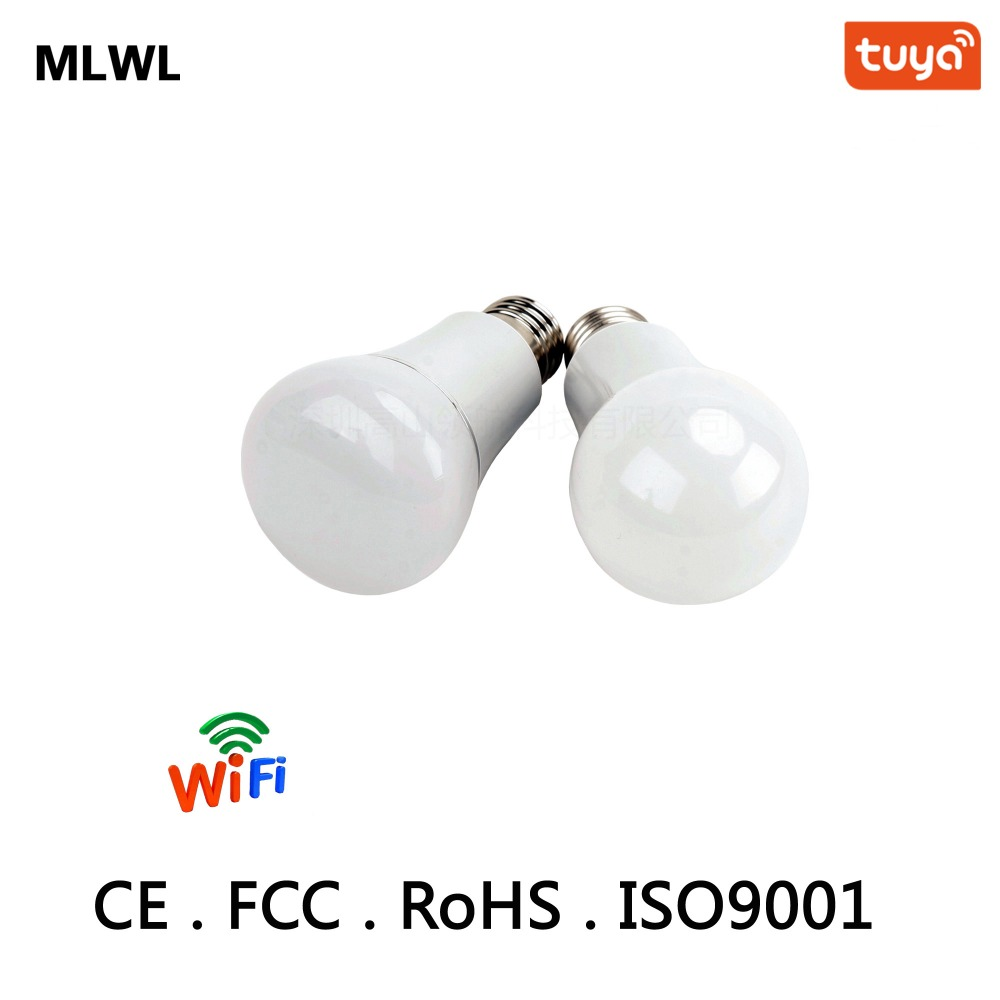Купить с кэшбэком Smart WIFI Lighting Remote APP Control 3W RGB Led Bulb Light E26 E27  LED Bulb Dimmer twoPCS