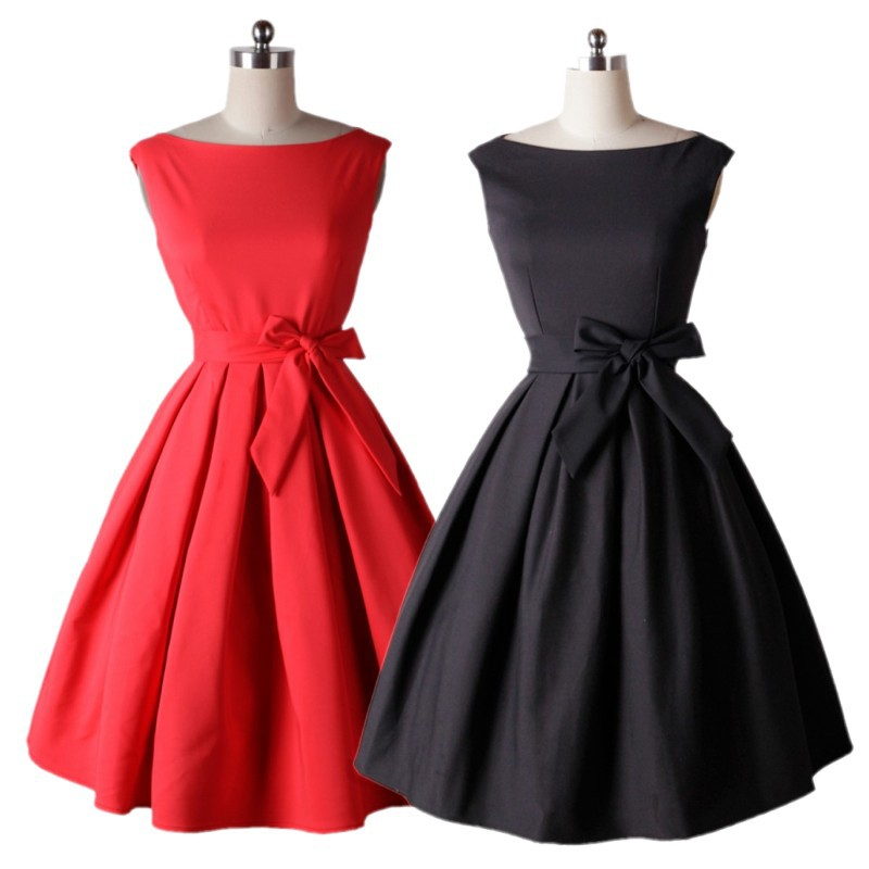 womens fashion retro 40s 50s short summer dresses