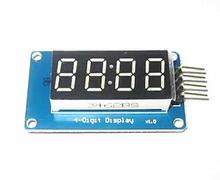 Free Shipping 10pcs 4 Bits Digital Tube LED Display Module With Clock Display TM1637 for Arduino Raspberry PI