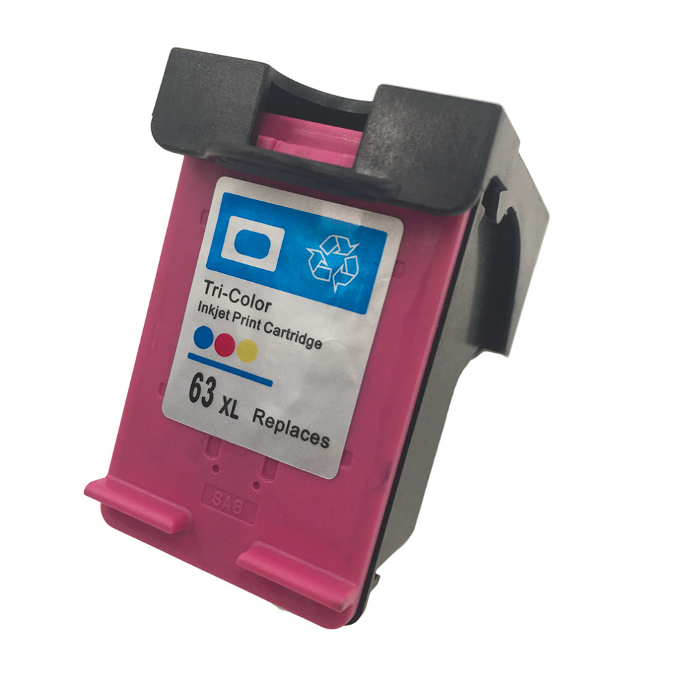 New High quality <font><b>Ink</b></font> <font><b>Cartridge</b></font> Replacement for <font><b>HP</b></font> 63 XL Replacement for <font><b>HP</b></font> 63 Officejet <font><b>2620</b></font> Replacement for ENVY 4500 image
