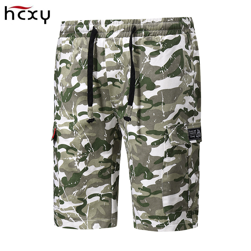 New2018Men Cargo Shorts Beach Shorts male Casual Short Pants Camouflage Military Summer Style Length Mens Tooling Shorts